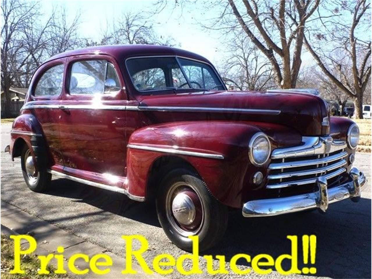 Large Picture of Classic 1947 Ford Super Deluxe located in Arlington Texas Offered by Classical Gas Enterprises - GCBZ