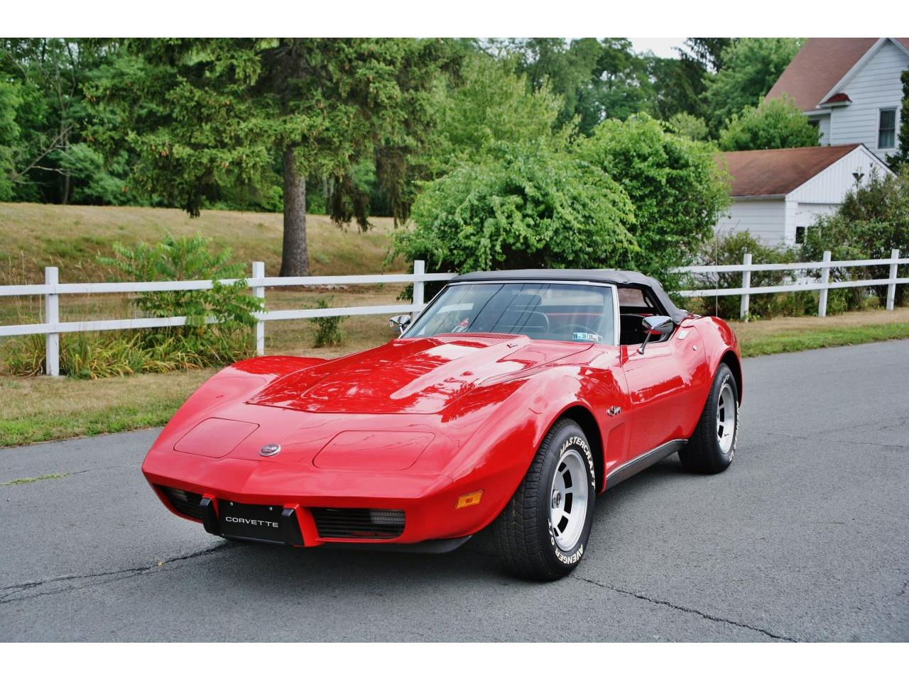 Large Picture of 1975 Chevrolet Corvette located in Pennsylvania - $26,900.00 Offered by Coffee's Sports and Classics - GCY5