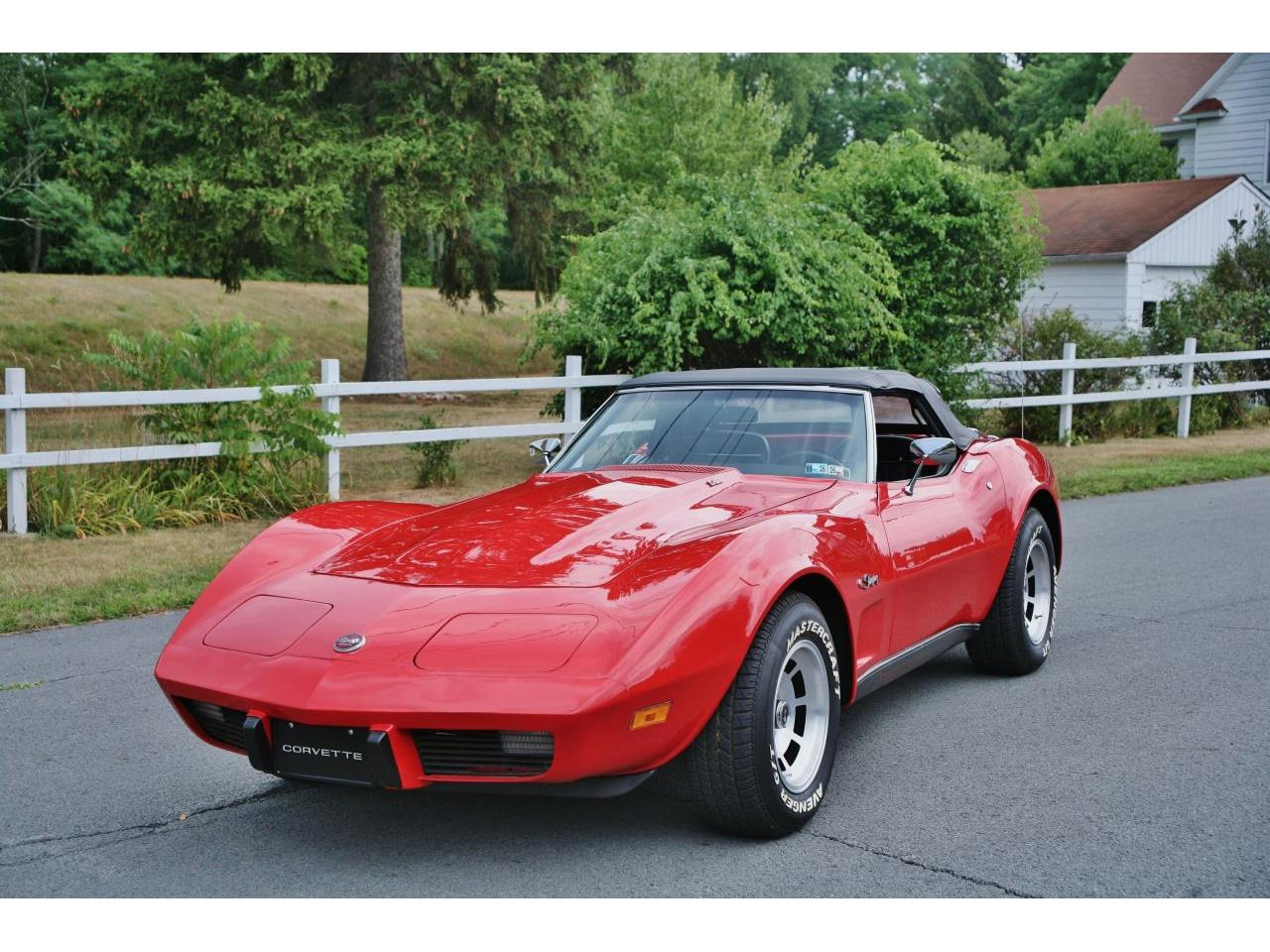 Large Picture of 1975 Chevrolet Corvette located in Pennsylvania - GCY5