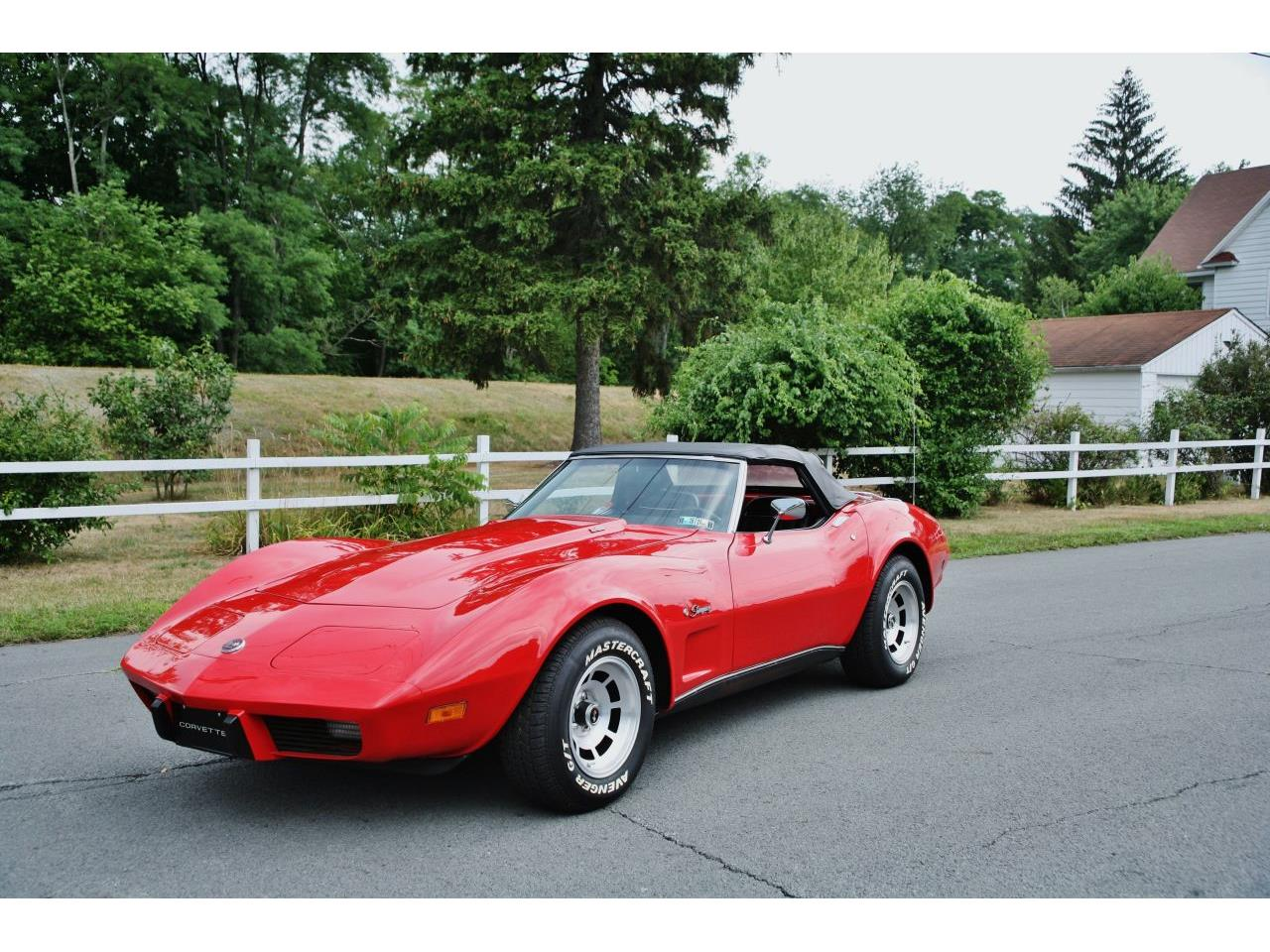 Large Picture of 1975 Chevrolet Corvette Offered by Coffee's Sports and Classics - GCY5