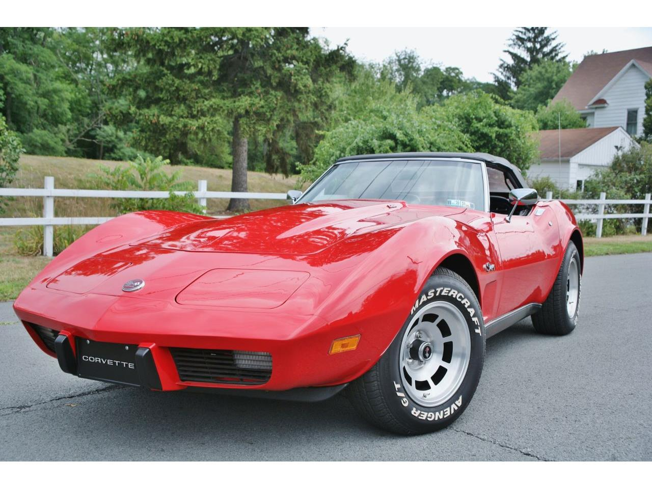 Large Picture of 1975 Corvette located in Old Forge Pennsylvania - $26,900.00 Offered by Coffee's Sports and Classics - GCY5