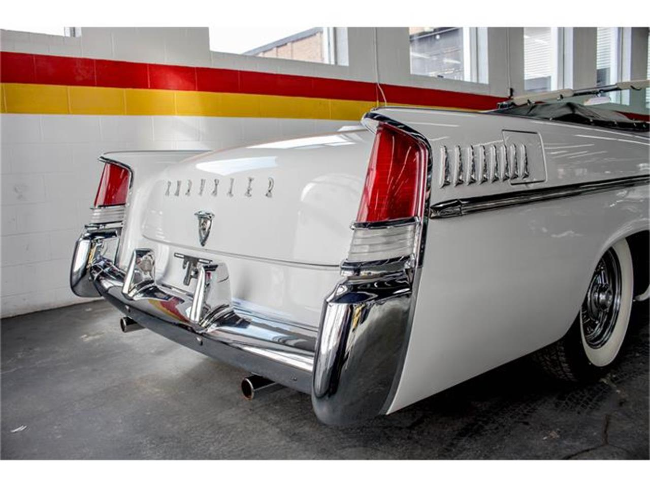 Large Picture of '56 Chrysler New Yorker located in Montreal Quebec Offered by John Scotti Classic Cars - GE3F