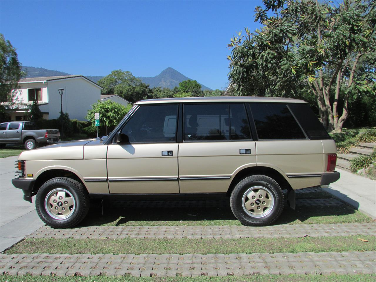 Land Rovers For Sale >> For Sale 1993 Land Rover Range Rover In San Salvador San Salvador