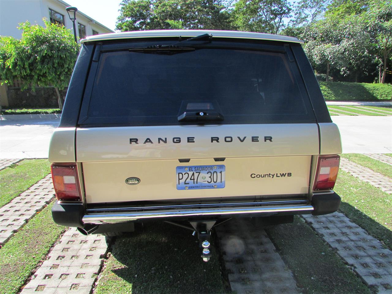 Large Picture of 1993 Range Rover located in San Salvador - GELK