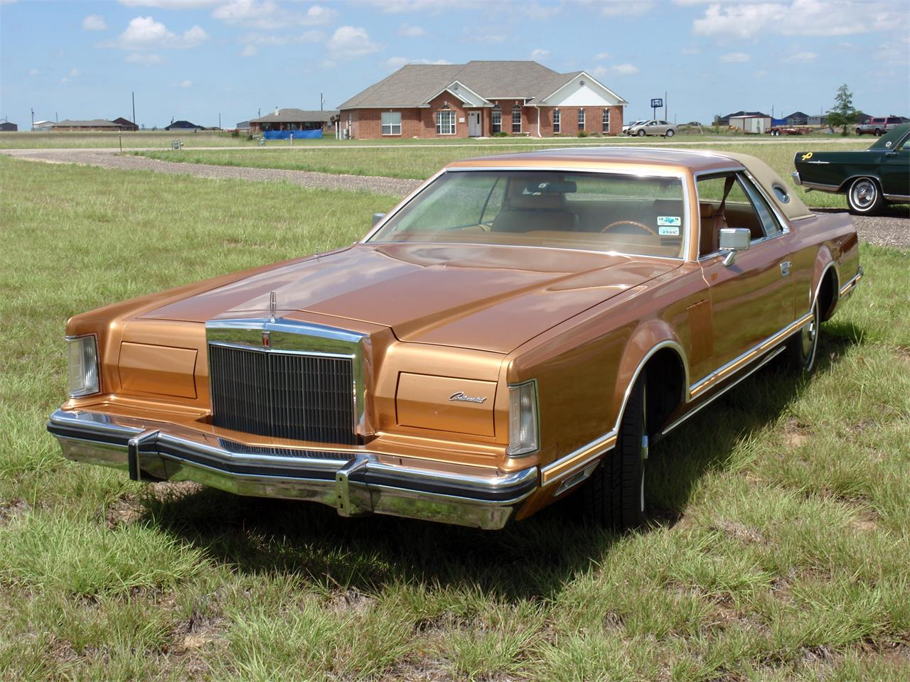 Large Picture of 1978 Continental Mark V located in Texas Offered by a Private Seller - GFR6