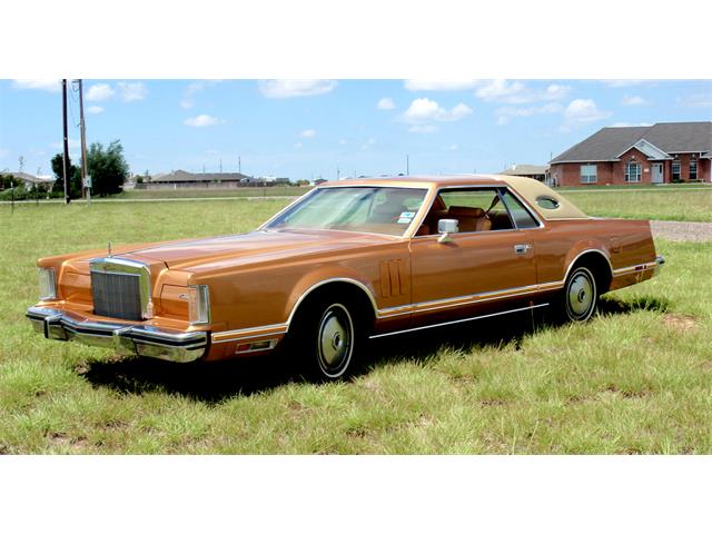 Picture of '78 Lincoln Continental Mark V located in Amarillo Texas - GFR6