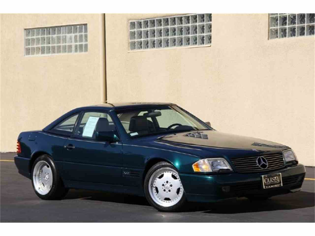 1995 mercedes benz sl600 for sale cc for Mercedes benz of long beach service