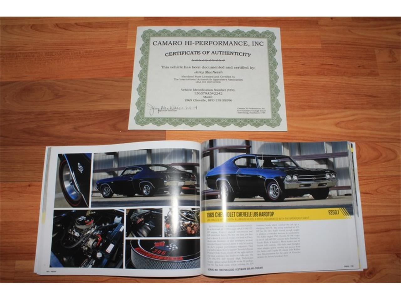 Large Picture of Classic 1969 Chevrolet Chevelle SS located in Lenoir City Tennessee Offered by Smoky Mountain Traders - GHL0
