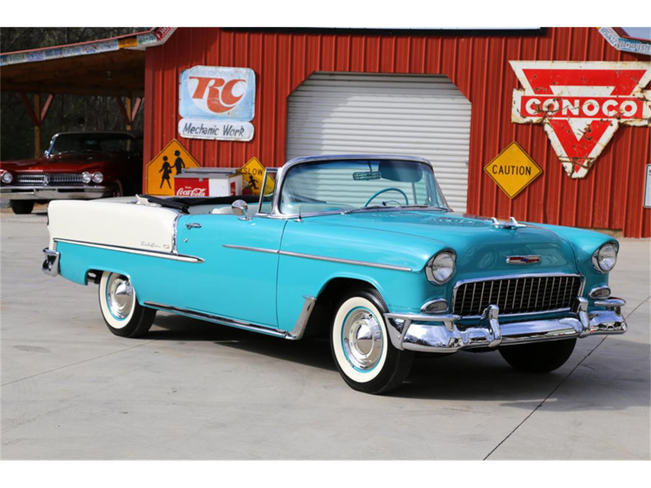 Large Picture of 1955 Bel Air located in Lenoir City Tennessee - $72,995.00 Offered by Smoky Mountain Traders - GHL6