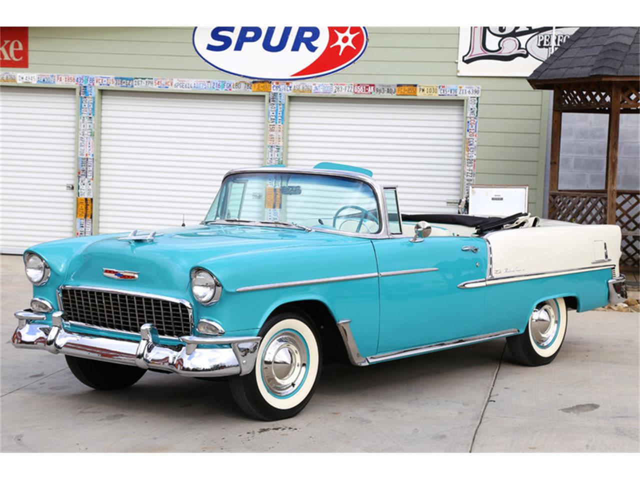 Large Picture of Classic 1955 Chevrolet Bel Air located in Lenoir City Tennessee - $72,995.00 Offered by Smoky Mountain Traders - GHL6