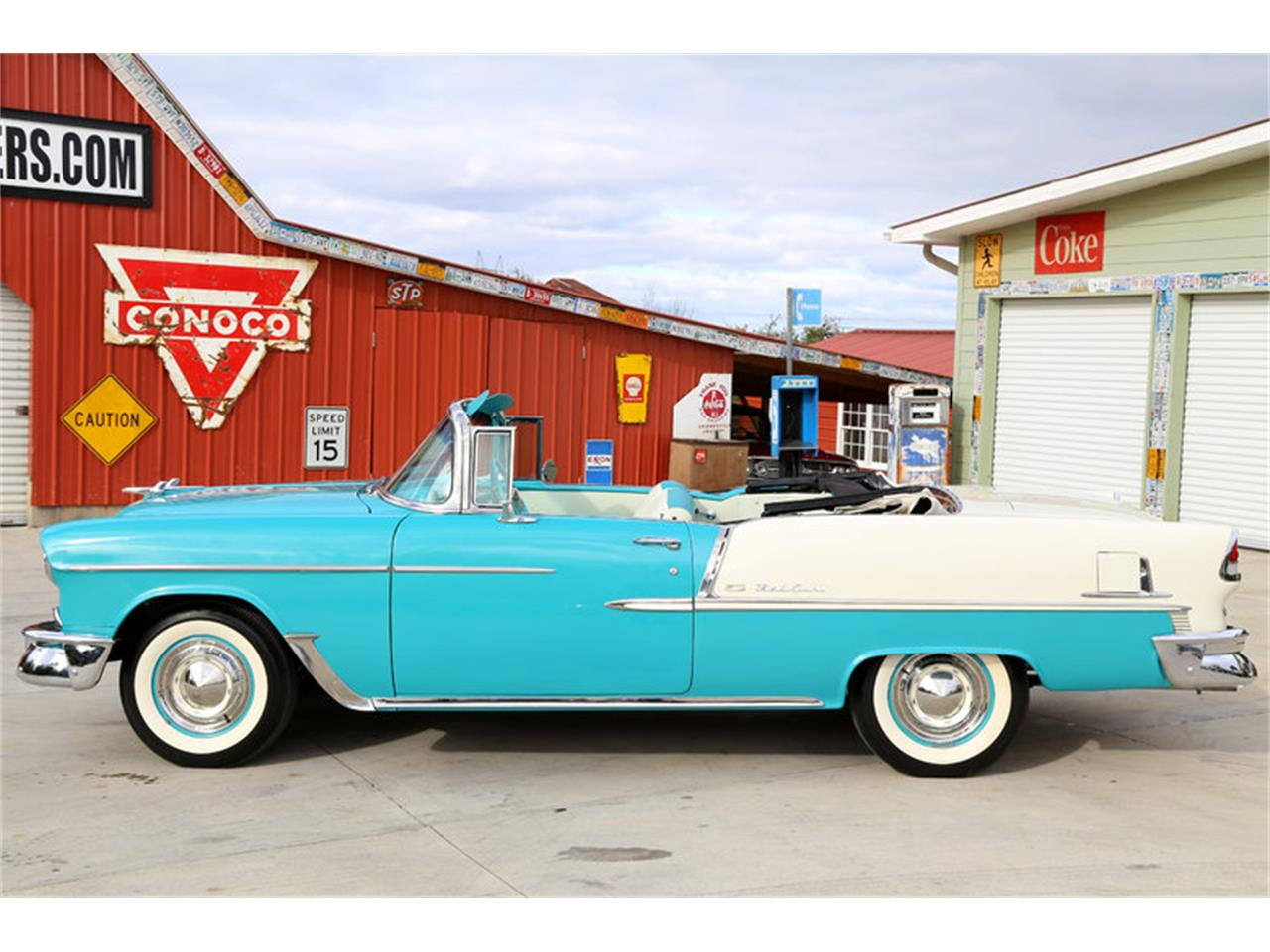 Large Picture of Classic '55 Chevrolet Bel Air located in Tennessee - $72,995.00 Offered by Smoky Mountain Traders - GHL6