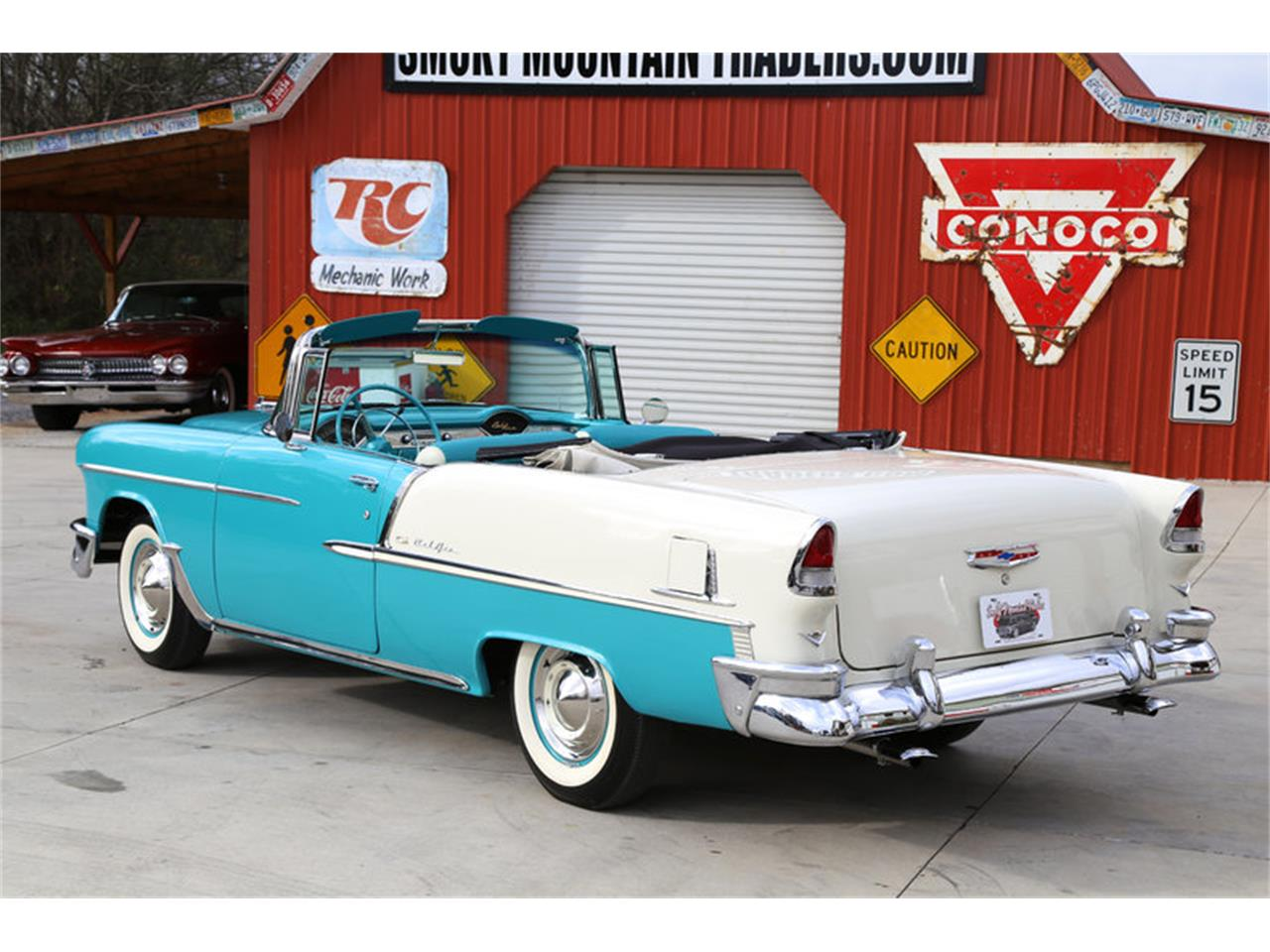 Large Picture of 1955 Bel Air located in Lenoir City Tennessee Offered by Smoky Mountain Traders - GHL6