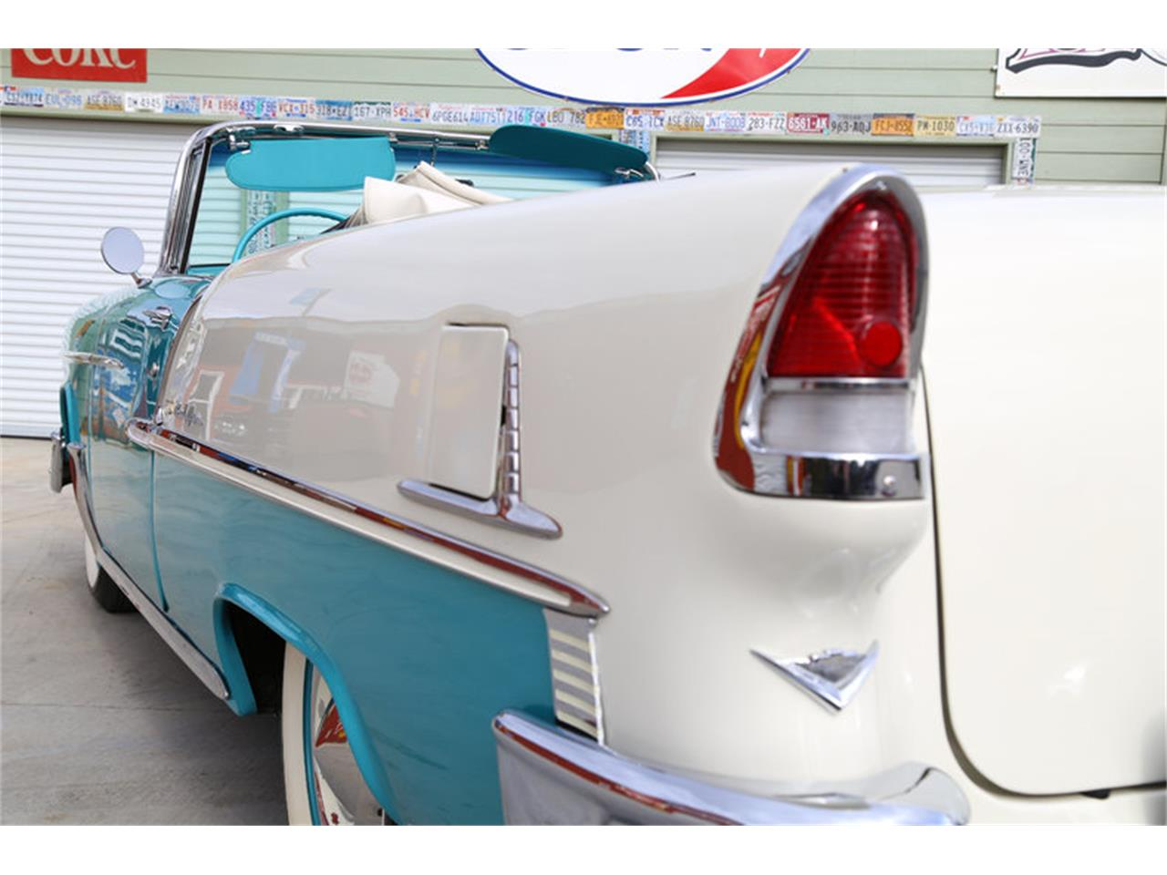 Large Picture of Classic '55 Chevrolet Bel Air located in Lenoir City Tennessee Offered by Smoky Mountain Traders - GHL6