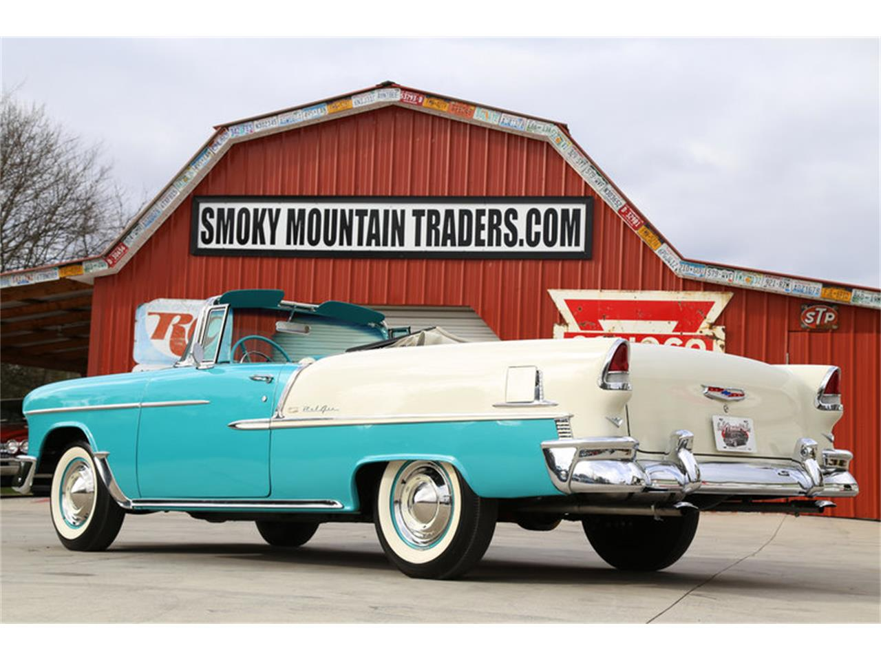 Large Picture of '55 Chevrolet Bel Air located in Tennessee Offered by Smoky Mountain Traders - GHL6