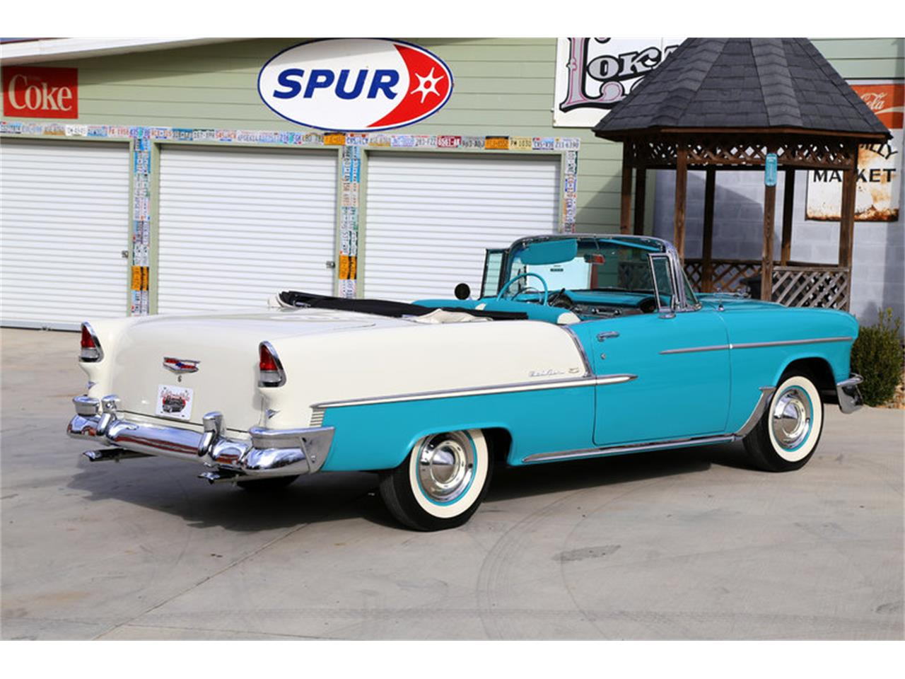 Large Picture of Classic 1955 Chevrolet Bel Air - $72,995.00 Offered by Smoky Mountain Traders - GHL6