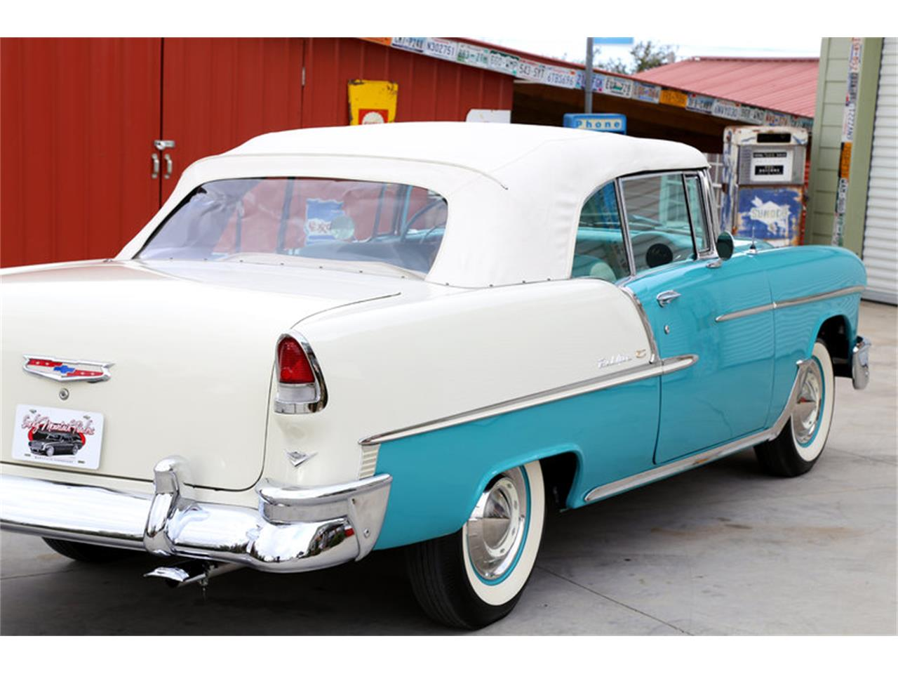 Large Picture of 1955 Chevrolet Bel Air located in Lenoir City Tennessee - $72,995.00 - GHL6