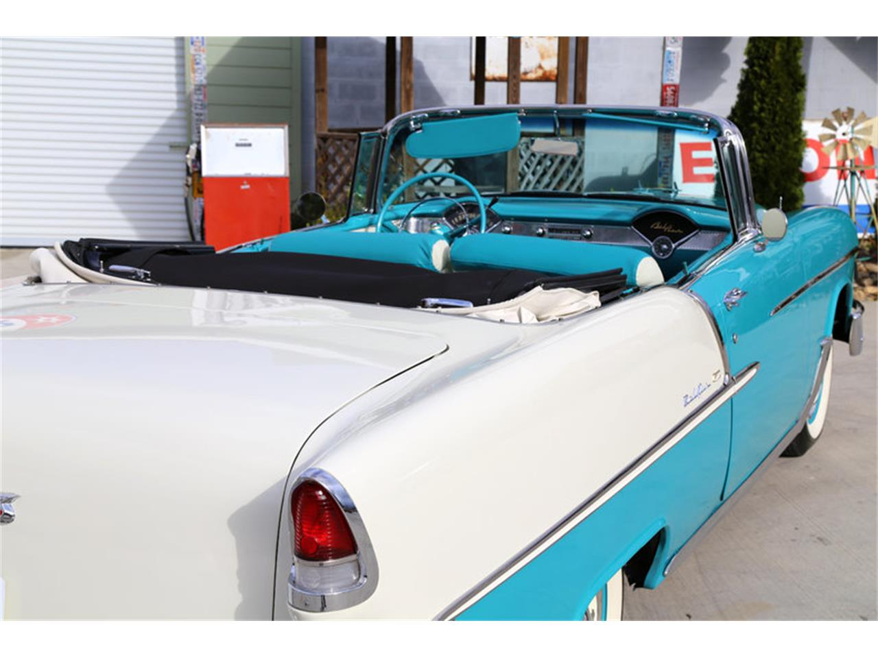 Large Picture of '55 Chevrolet Bel Air located in Tennessee - $72,995.00 Offered by Smoky Mountain Traders - GHL6