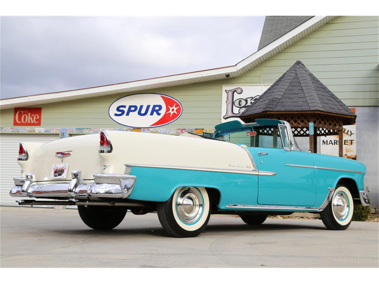 Large Picture of '55 Chevrolet Bel Air located in Lenoir City Tennessee Offered by Smoky Mountain Traders - GHL6
