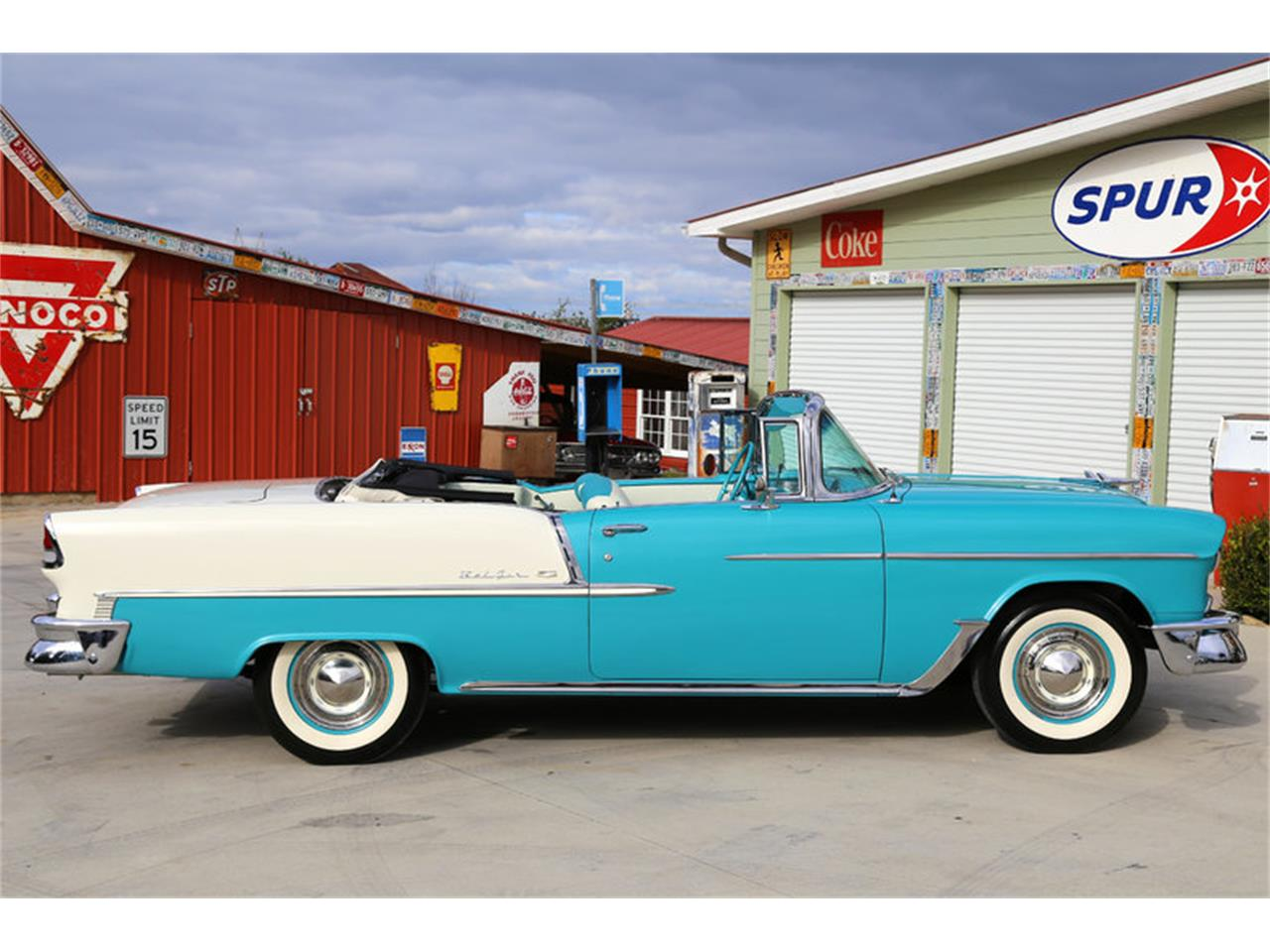 Large Picture of Classic '55 Chevrolet Bel Air Offered by Smoky Mountain Traders - GHL6