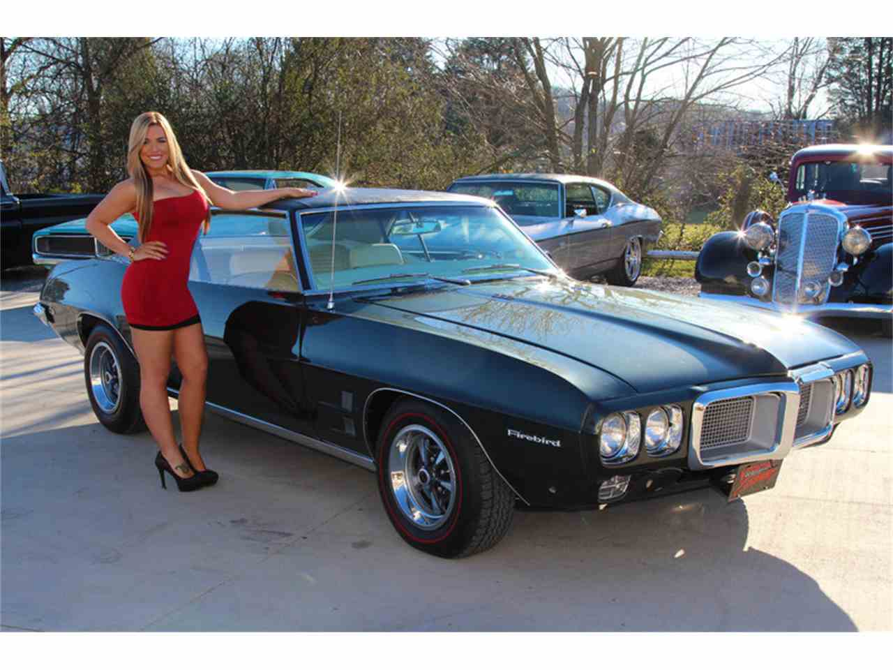 Large Picture of '69 Pontiac Firebird located in Tennessee Offered by Smoky Mountain Traders - GHLI