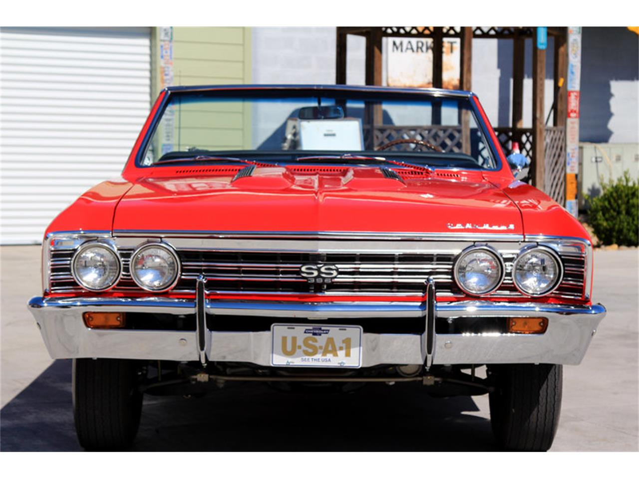 Large Picture of Classic '67 Chevrolet Chevelle SS located in Lenoir City Tennessee - $74,995.00 Offered by Smoky Mountain Traders - GHLU