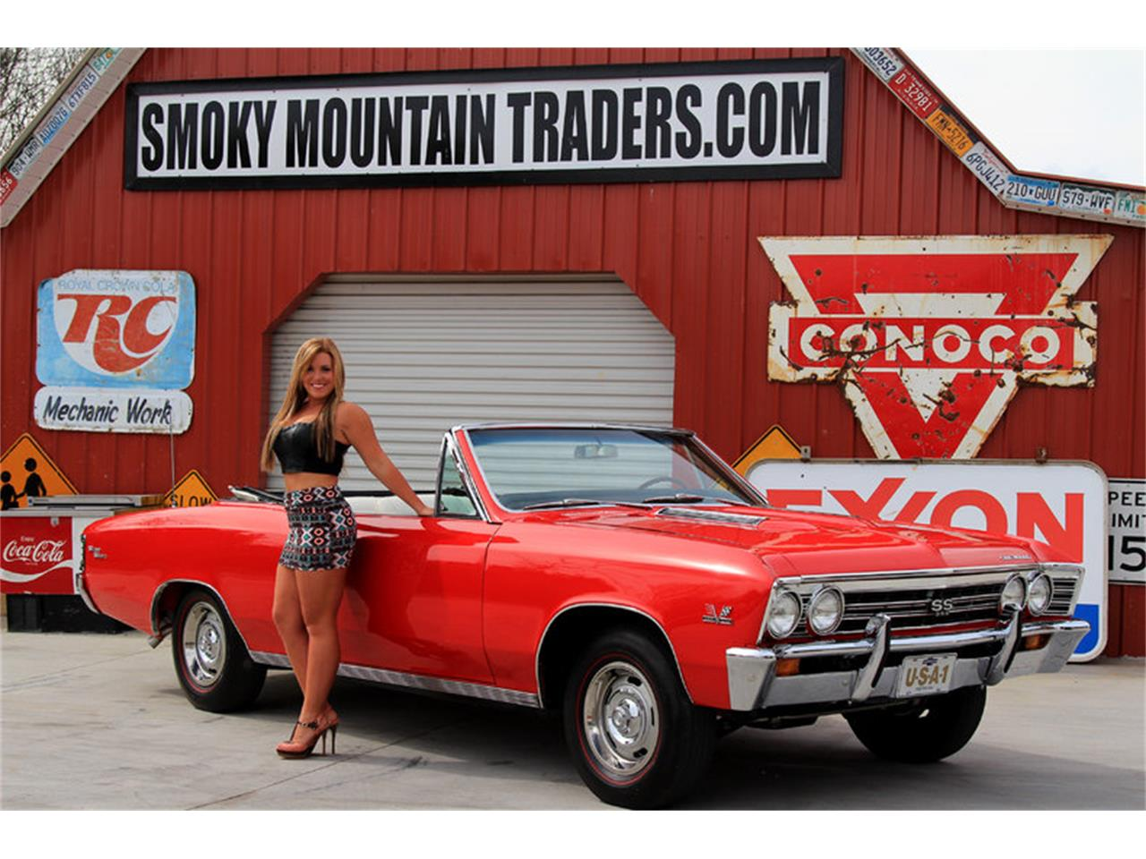 Large Picture of '67 Chevrolet Chevelle SS located in Tennessee - $74,995.00 Offered by Smoky Mountain Traders - GHLU
