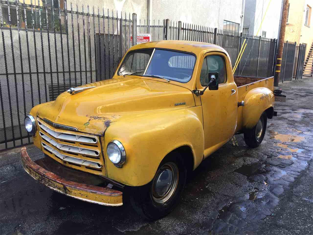 1948 studebaker truck for sale cc 769948. Black Bedroom Furniture Sets. Home Design Ideas