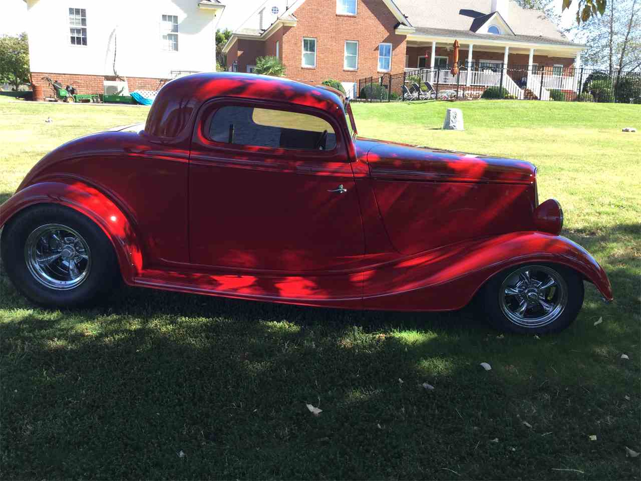 1934 ford 3 window coupe for sale cc 771413. Black Bedroom Furniture Sets. Home Design Ideas