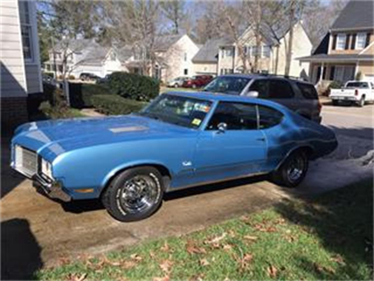 Large Picture of Classic 1971 Oldsmobile Cutlass S located in Raleigh North Carolina Offered by a Private Seller - GJ86