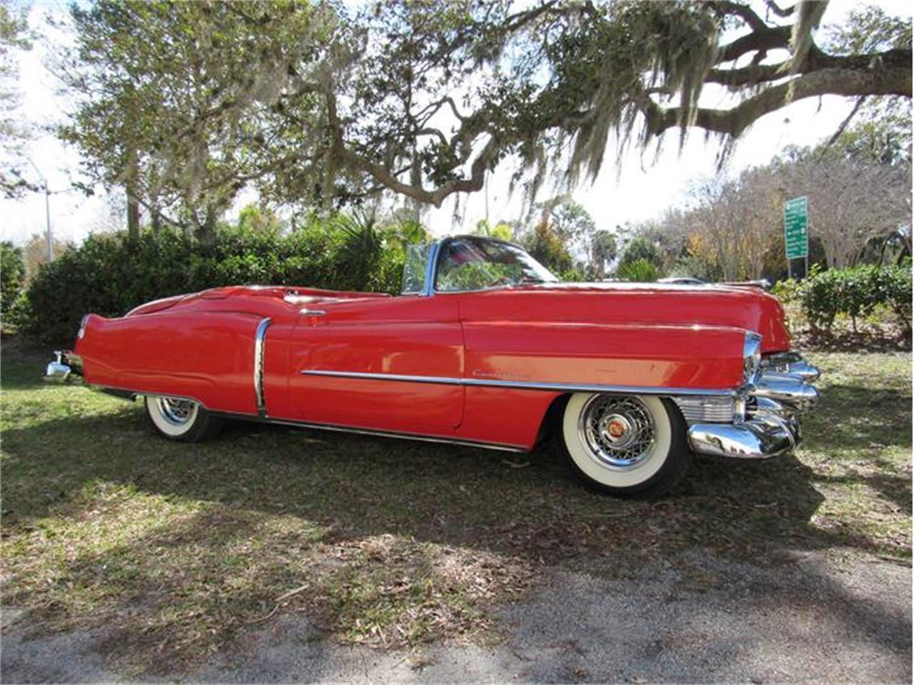 Large Picture of Classic 1953 Cadillac Eldorado Offered by Vintage Motors Sarasota - GJKK