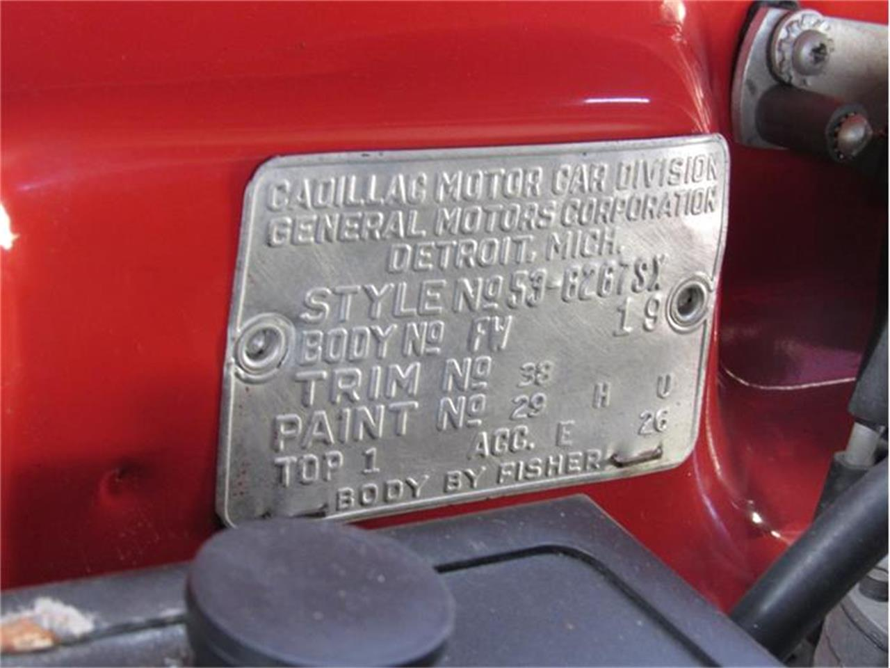 Large Picture of '53 Cadillac Eldorado located in Sarasota Florida Offered by Vintage Motors Sarasota - GJKK