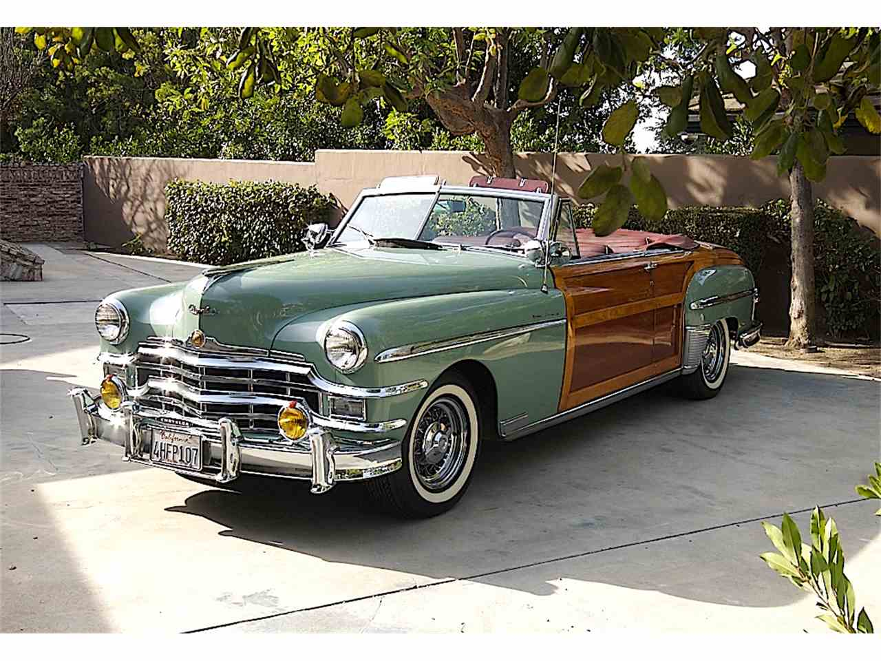 Large Picture of Classic '49 Chrysler Town & Country located in California Offered by a Private Seller - GIAH