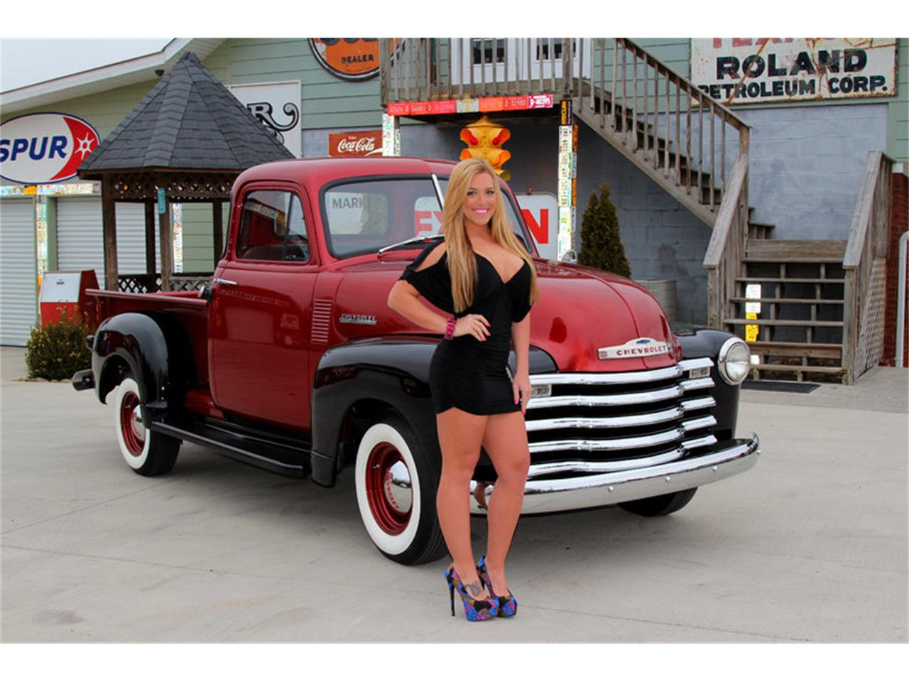 Large Picture of '51 Chevrolet 3100 located in Lenoir City Tennessee Offered by Smoky Mountain Traders - GLQB