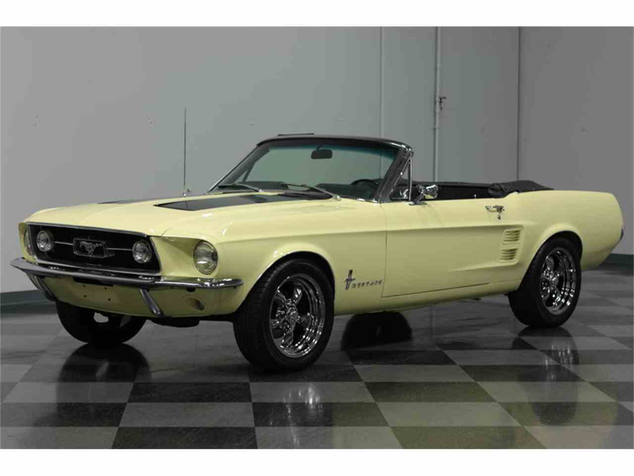 Large Picture of '67 Mustang - GLRF
