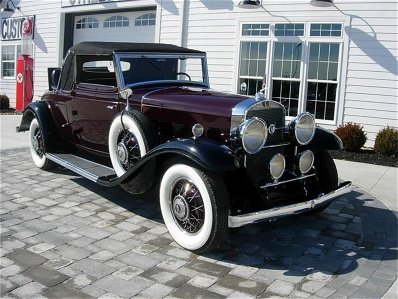 Large Picture of 1931 Cadillac 355 located in Newark Ohio Offered by JJ Rods, LLC - GM0W