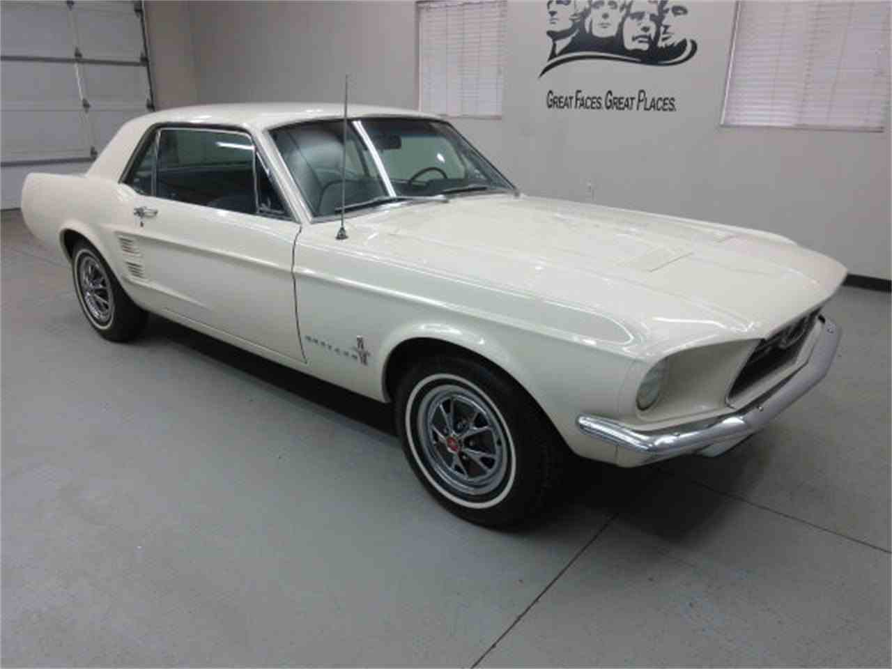 Large Picture of Classic '67 Mustang Offered by Frankman Motor Company - GM8X