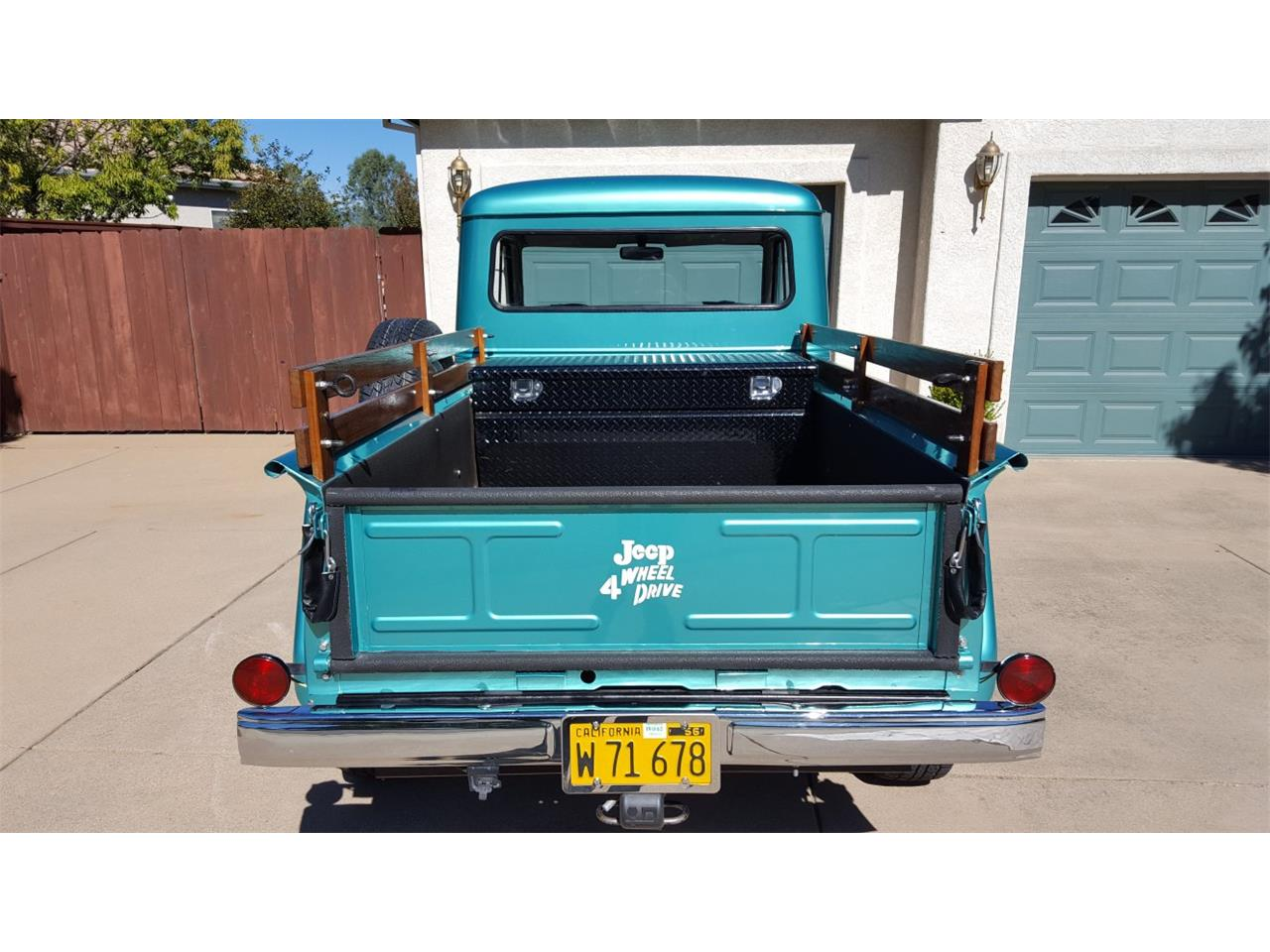 Large Picture of Classic '62 Willys Pickup - $27,000.00 - GN2B