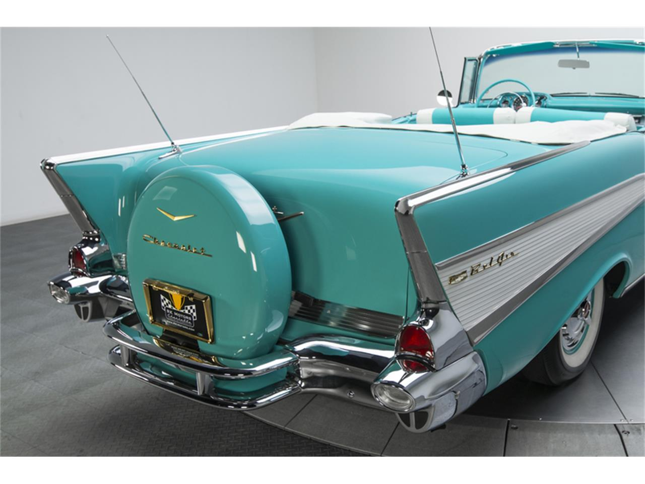 Large Picture of '57 Chevrolet Bel Air located in North Carolina - $129,900.00 Offered by RK Motors Charlotte - GN7H