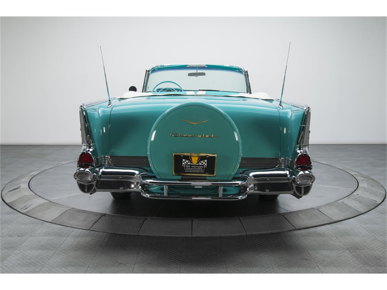 Large Picture of '57 Chevrolet Bel Air located in Charlotte North Carolina - $129,900.00 Offered by RK Motors Charlotte - GN7H