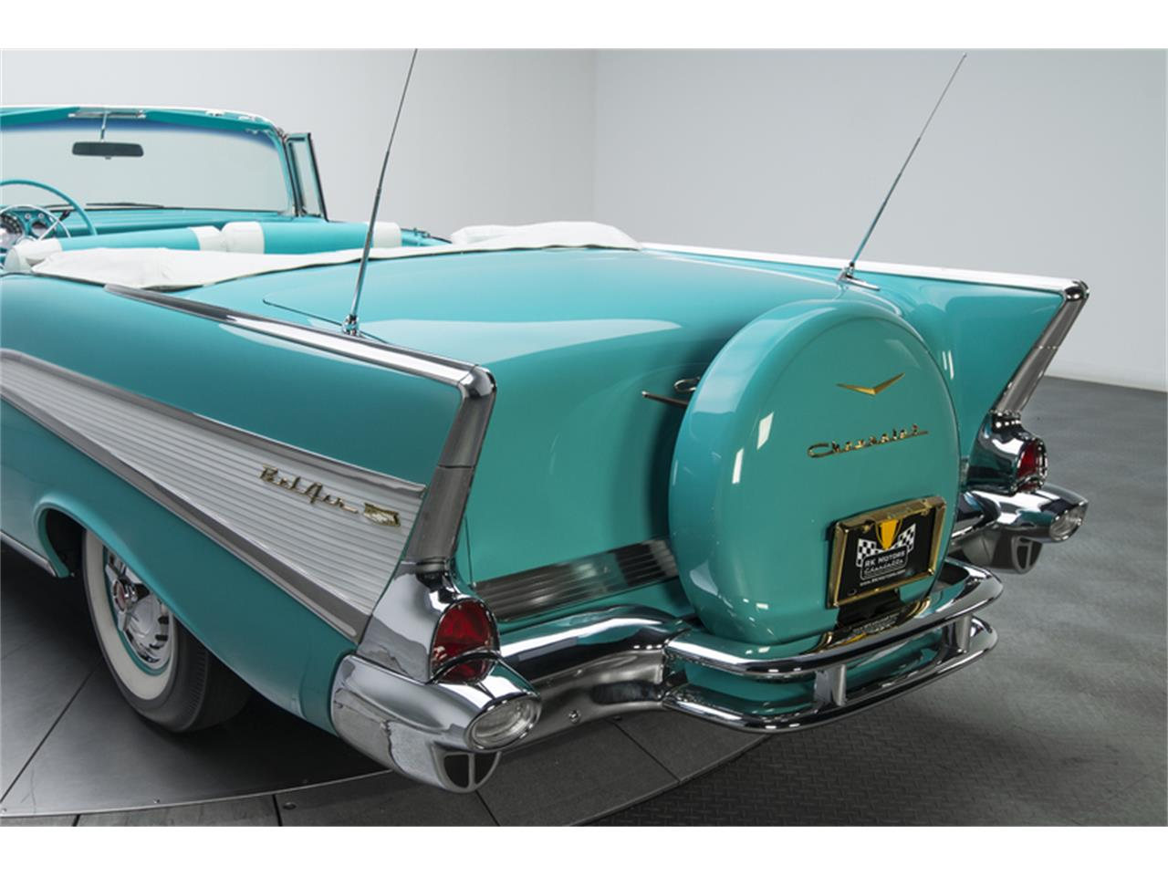 Large Picture of 1957 Bel Air Offered by RK Motors Charlotte - GN7H