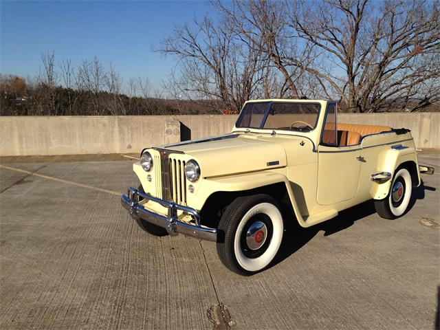 Picture of Classic '49 Jeepster located in Branson Missouri - $37,500.00 Offered by  - GPZA