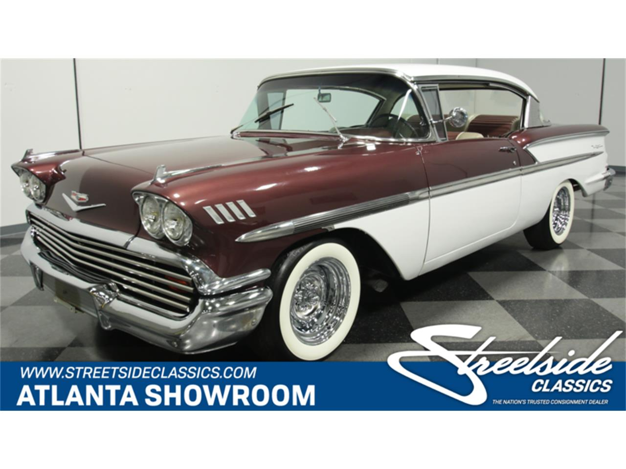 Large Picture of '58 Chevrolet Bel Air located in Lithia Springs Georgia - $24,995.00 Offered by Streetside Classics - Atlanta - GQ7T