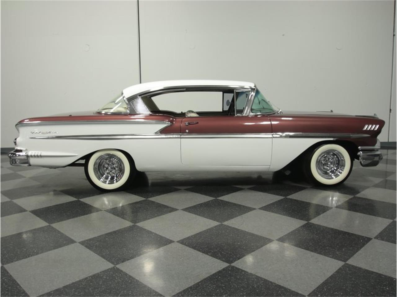 Large Picture of Classic 1958 Chevrolet Bel Air located in Georgia Offered by Streetside Classics - Atlanta - GQ7T