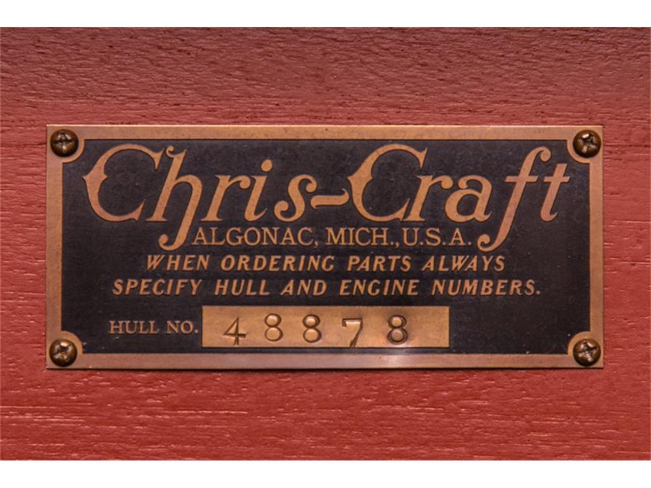 Large Picture of Classic '41 Chris Craft Custom Runabout located in California Auction Vehicle - GQA5