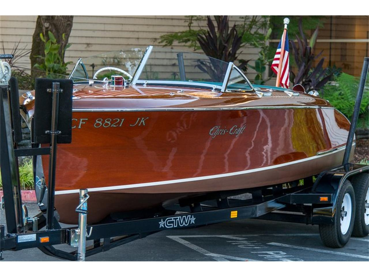 Large Picture of Classic 1941 Chris Craft Custom Runabout located in California Offered by Canepa - GQA5