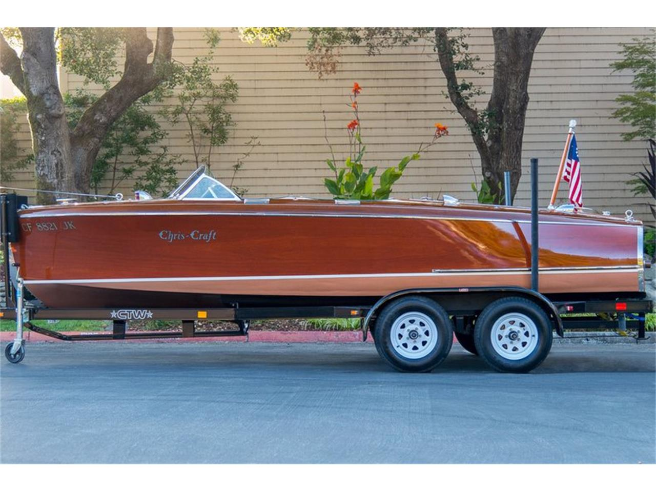 Large Picture of Classic '41 Chris Craft Custom Runabout Auction Vehicle - GQA5