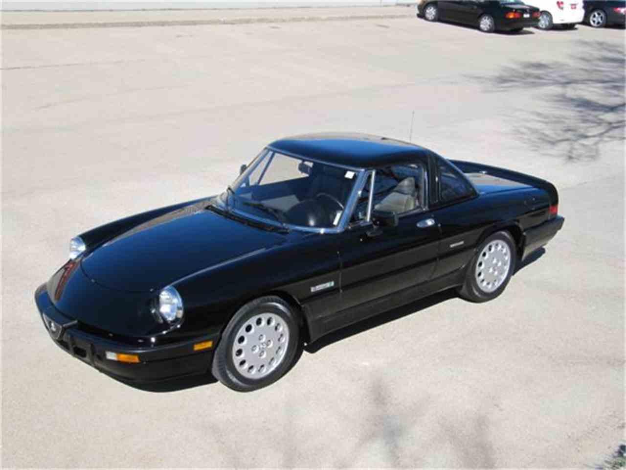 Buy used 1988 Alfa Romeo Spider Quadrifoglio Convertible 2 ...  |1988 Alfa Romeo Quadrifoglio