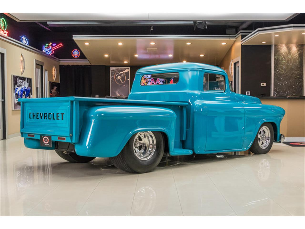 Large Picture of Classic '55 3100 located in Plymouth Michigan - $59,900.00 Offered by Vanguard Motor Sales - GVI6