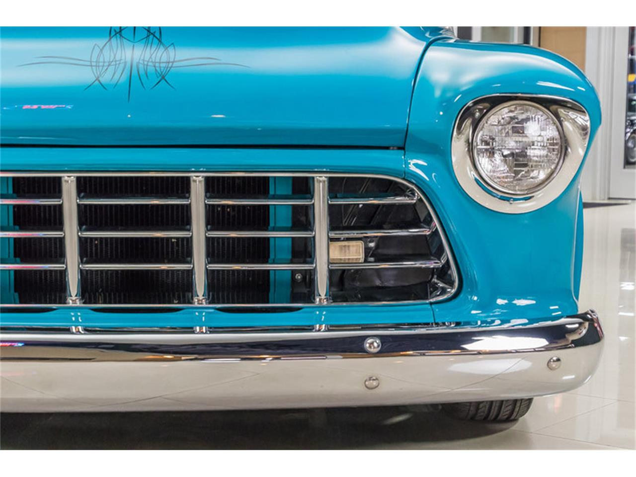 Large Picture of Classic '55 Chevrolet 3100 located in Plymouth Michigan Offered by Vanguard Motor Sales - GVI6
