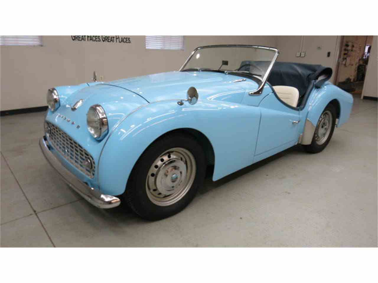 Large Picture of '59 TR3 - GYR5